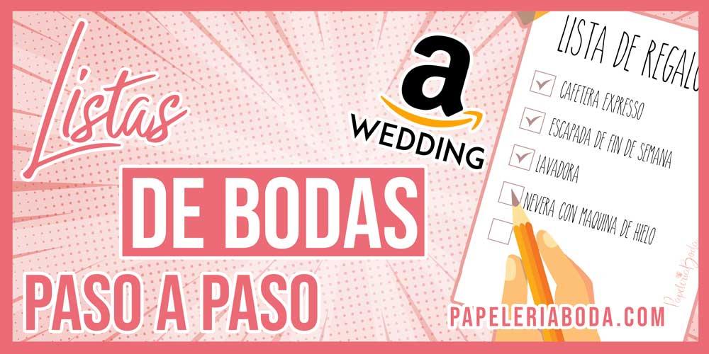 curso para crear lista de bodas en amazon
