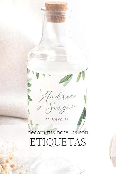 comprar etiquetas para personalizar vinos bodas