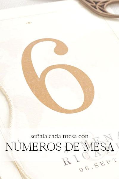 numeros de mesa personalizados asturias